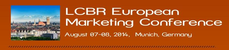 LCBR European Marketing Conference 2014